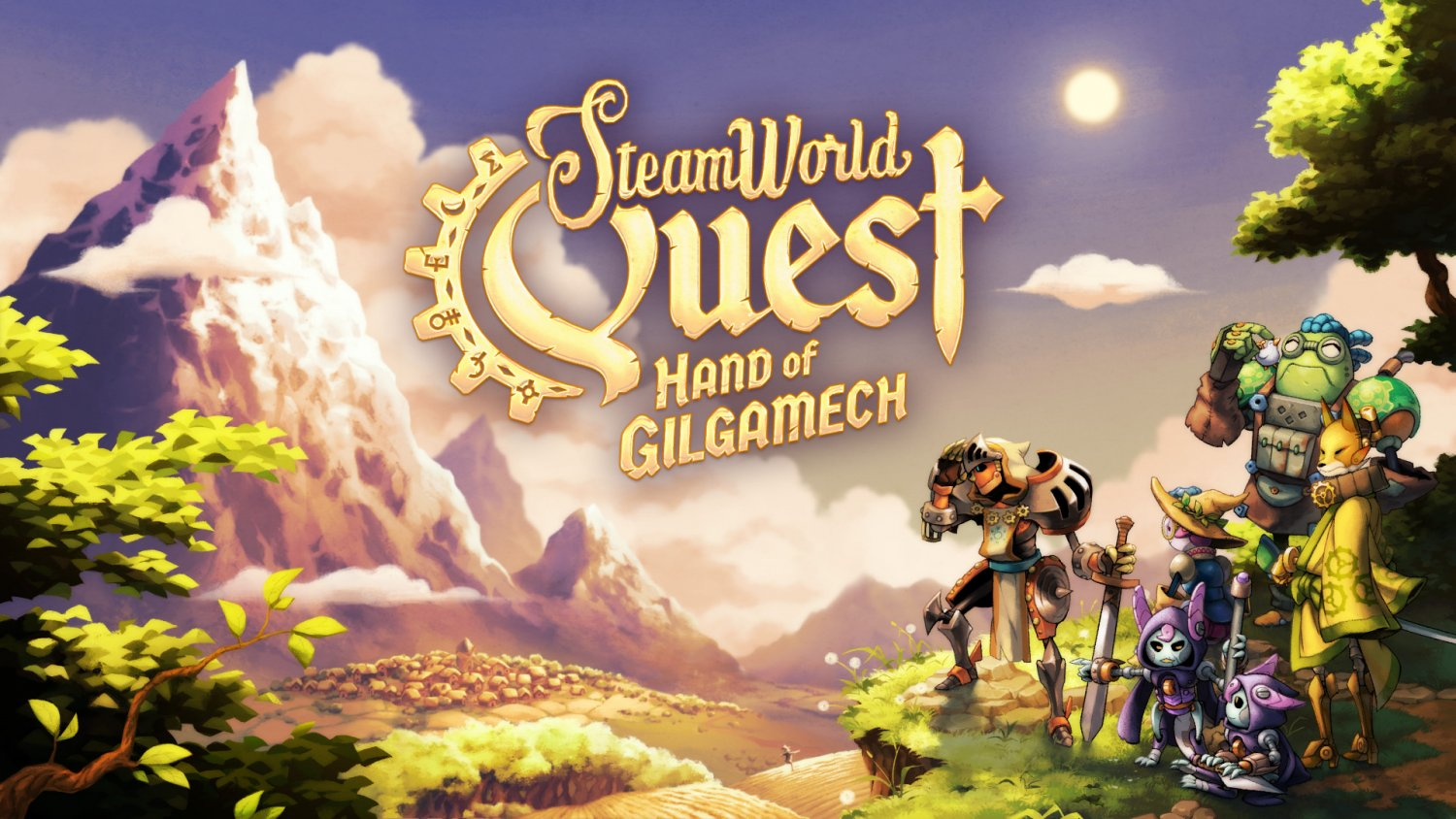 SteamWorld_Quest_Titlescreen